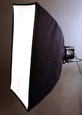 Softbox Diffuser Aimed Horizontally